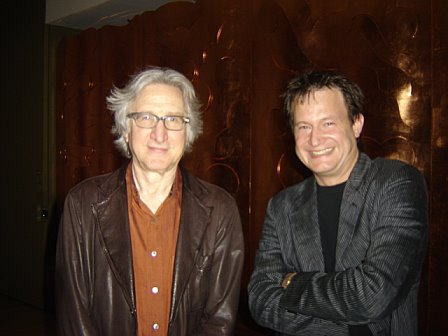 Ned Block and Bruce @ the Rubin Museum, New York April 2009