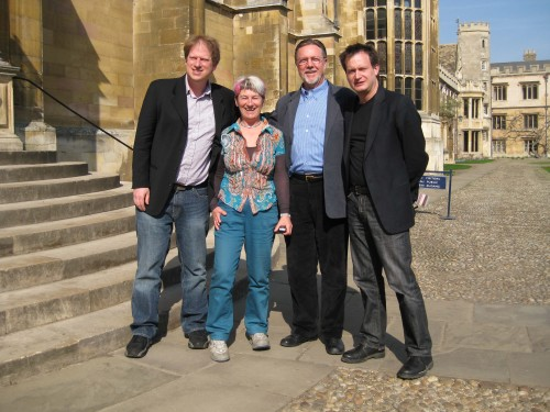 Paul Bloom, Susan Blackmore, Dan Wegner & concerned Bruce