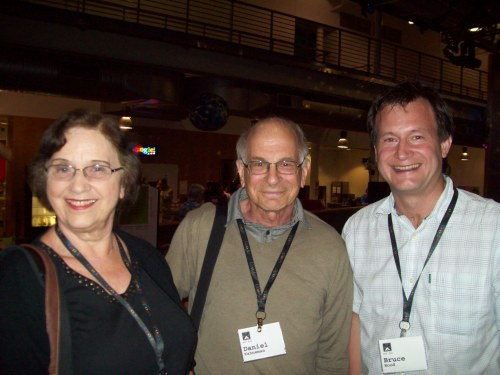 Bruce with Anne Triesman and Nobel Prize winner Dan Kahneman