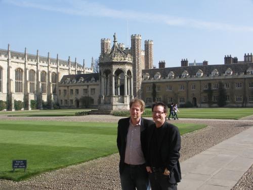 Paul Bloom & Bruce @ Trinity Workshop Mar. 2009