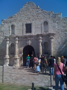 The Alamo (or what's left of it)